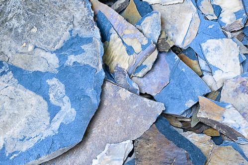 Blau-grauer Schiefer vom Dhroner Hofberger