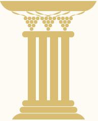 Grafik eines Sockels im antiken Design