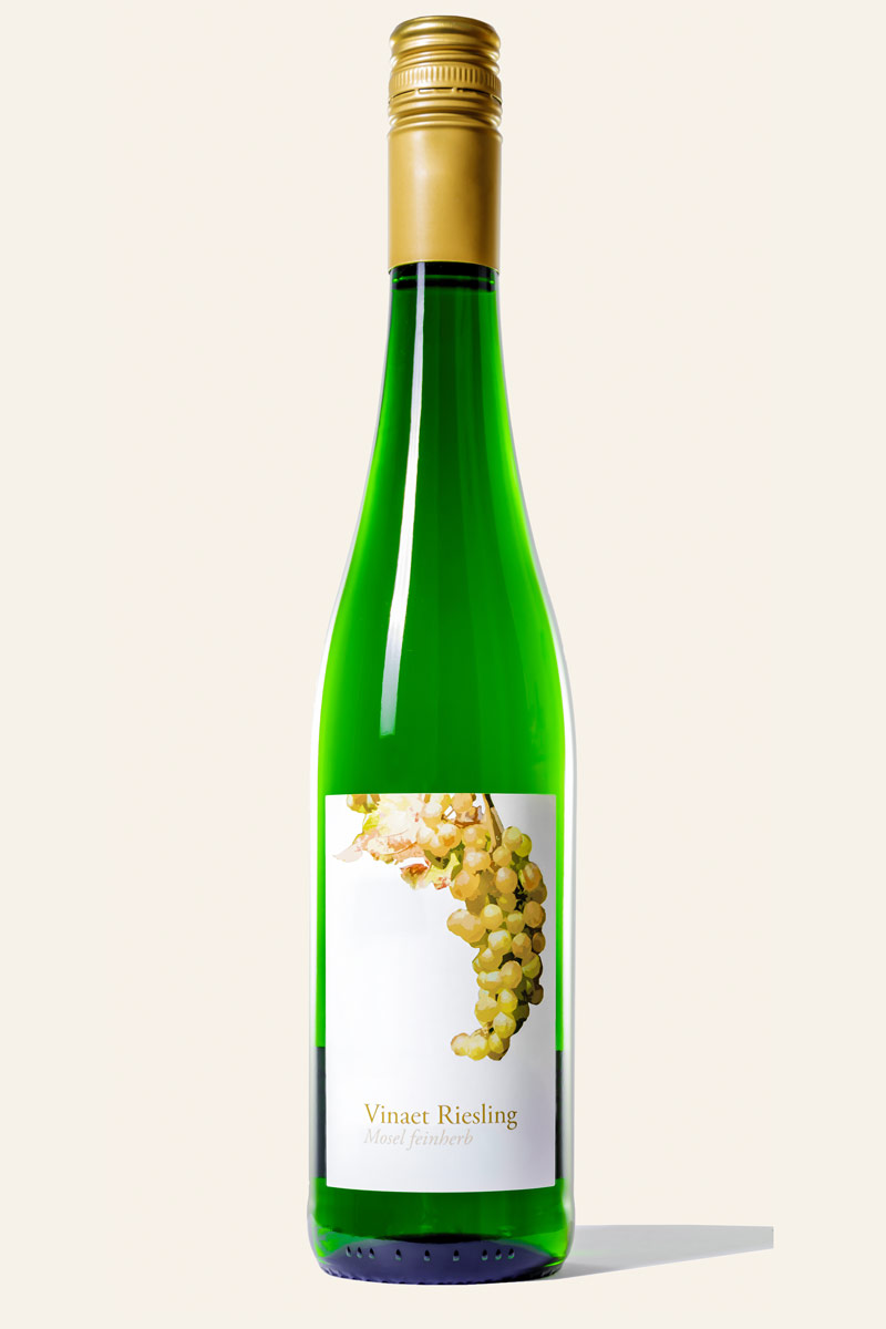 Vinaet Riesling trocken Flasche