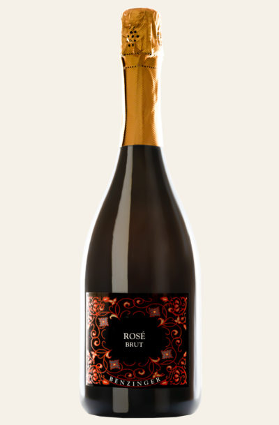 Benzinger Rosé brut 2017 -nach Champagner Methode- BIO