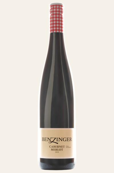 Benzinger Kirchheimer Kreuz 2018 Cabernet Sauvignon & Merlot trocken BIO in dunkler Weinflasche