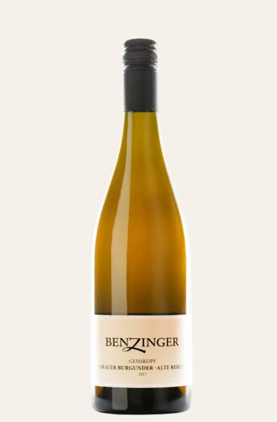Benzinger Grauer Burgunder Kirchheimer Geißkopf -alte Reben- 2017 trocken BIO