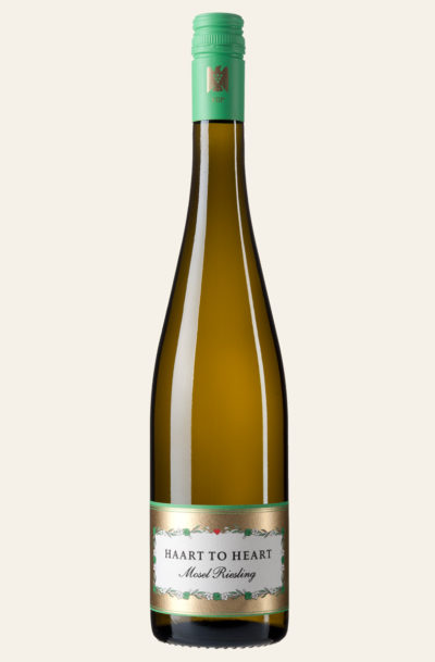 Haart to the Heart Mosel Riesling Flasche