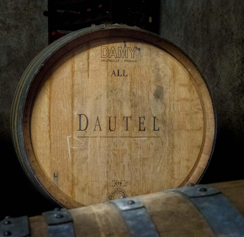 Tiny Winery Sven Zerwas Eichenfass von Dautel aus Frankreich (Mersault)