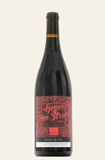 Tiny-Winery gegen den Strom Rotwein Flasche