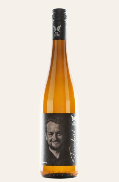 Vinventure Lukas Bicking Grauburgunder Lagenspiel trocken 2020 in orangener Flasche