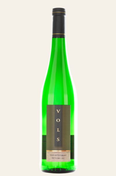 Vols Ayler Kupp Riesling Großes Gewächs 2020 trocken grüne Weinflasche