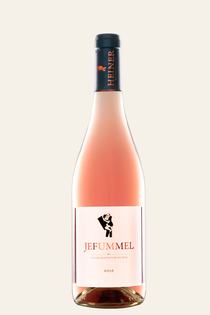 Weinmanufaktur Heiner Jefummel Rosé Flasche